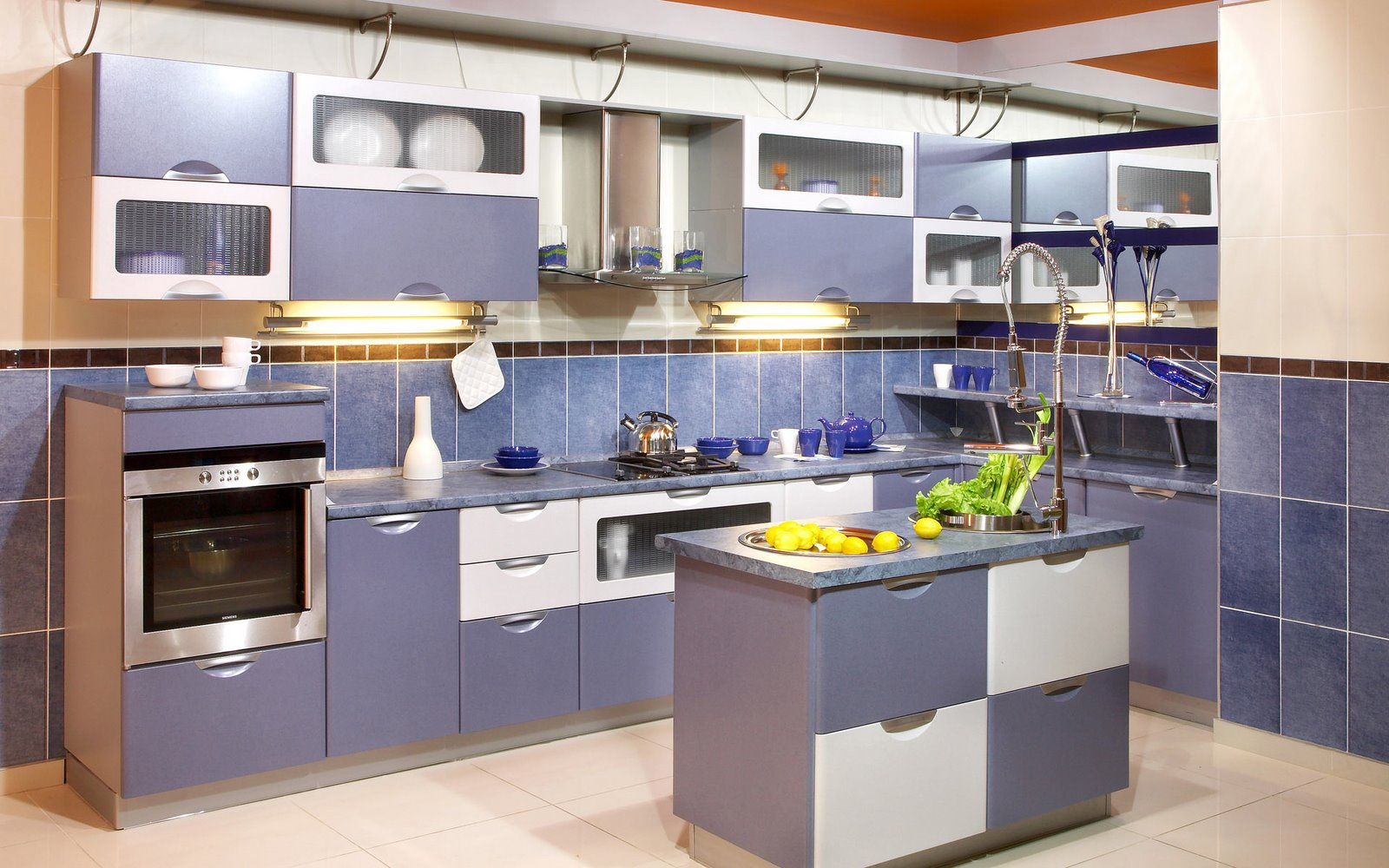 blue-kitchen-design-cabinets-island-white-combination-top-caninet-work-space-saver-italian-style